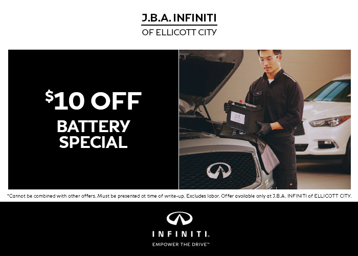 $10 Off Battery Special