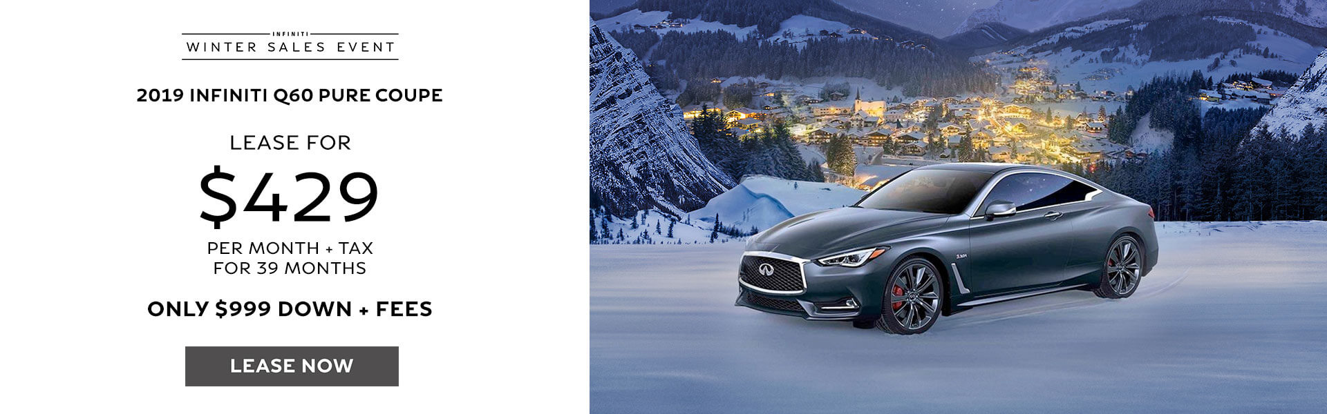 Q60 - Lease for $429