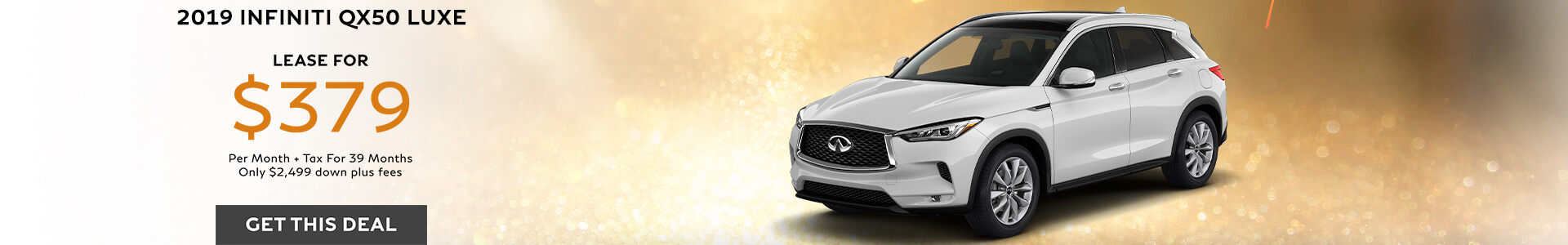 QX50 ESSENTIAL - Lease for $379