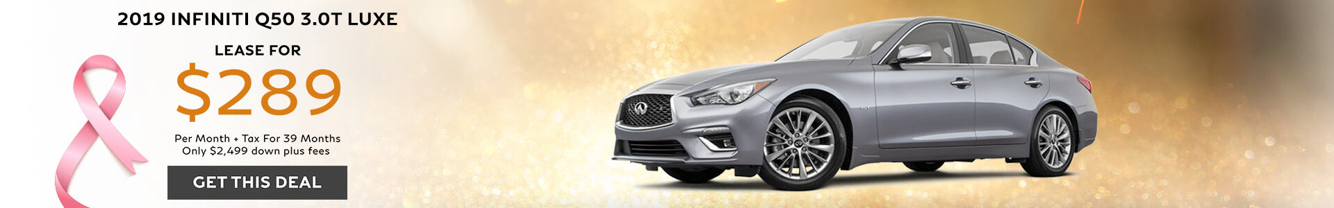 Q50 LUXE - Lease for $289