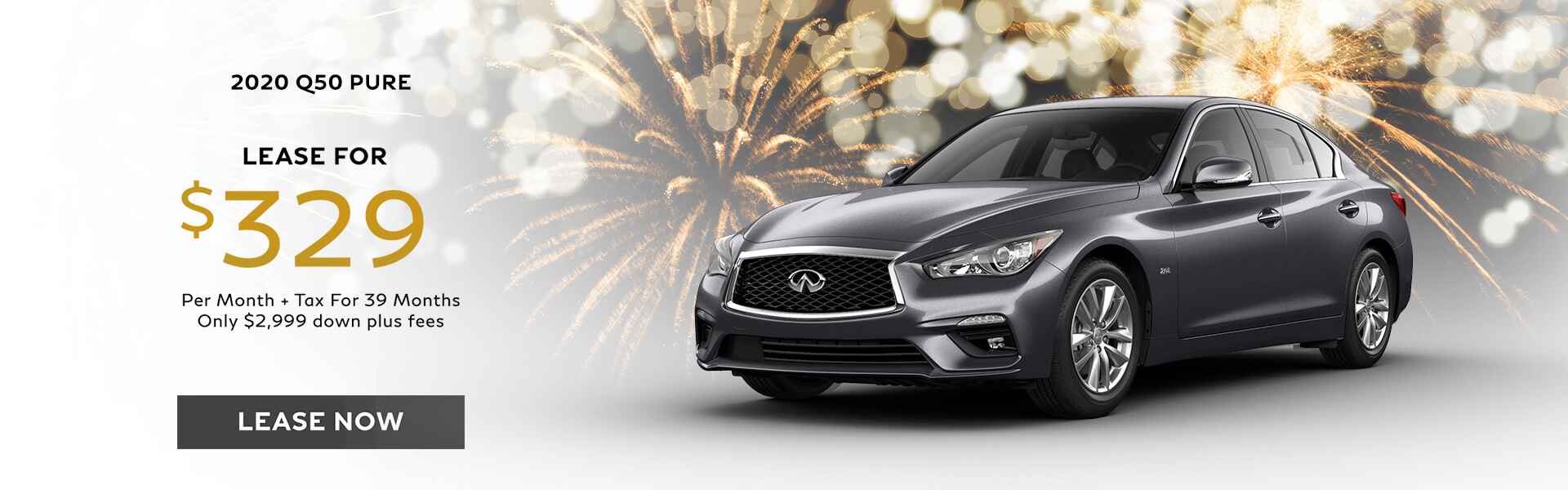Q50 PURE - Lease for $329