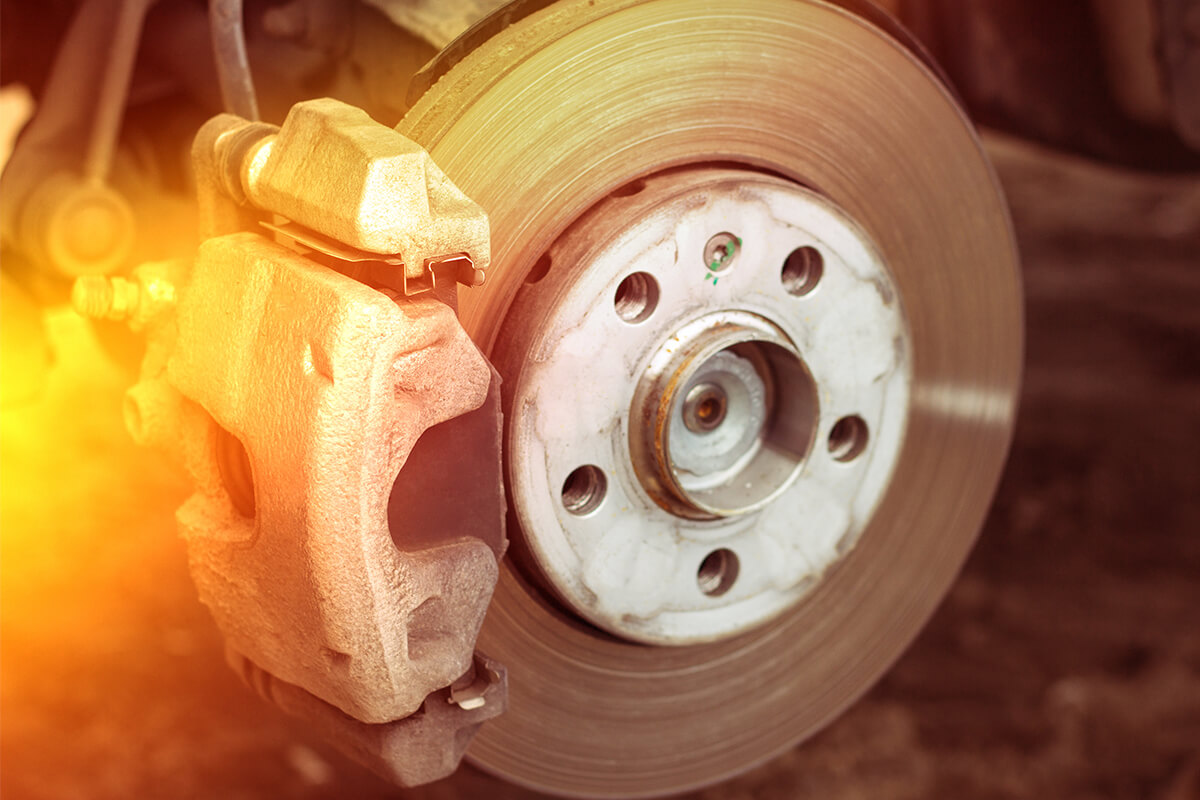 Replace brake pads and resurface both rotors