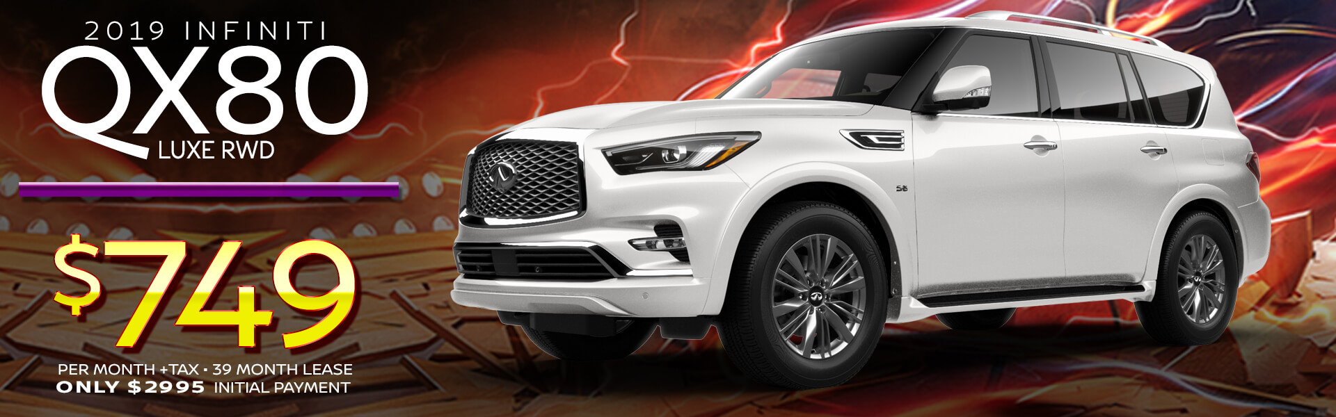 QX80 HP Offer