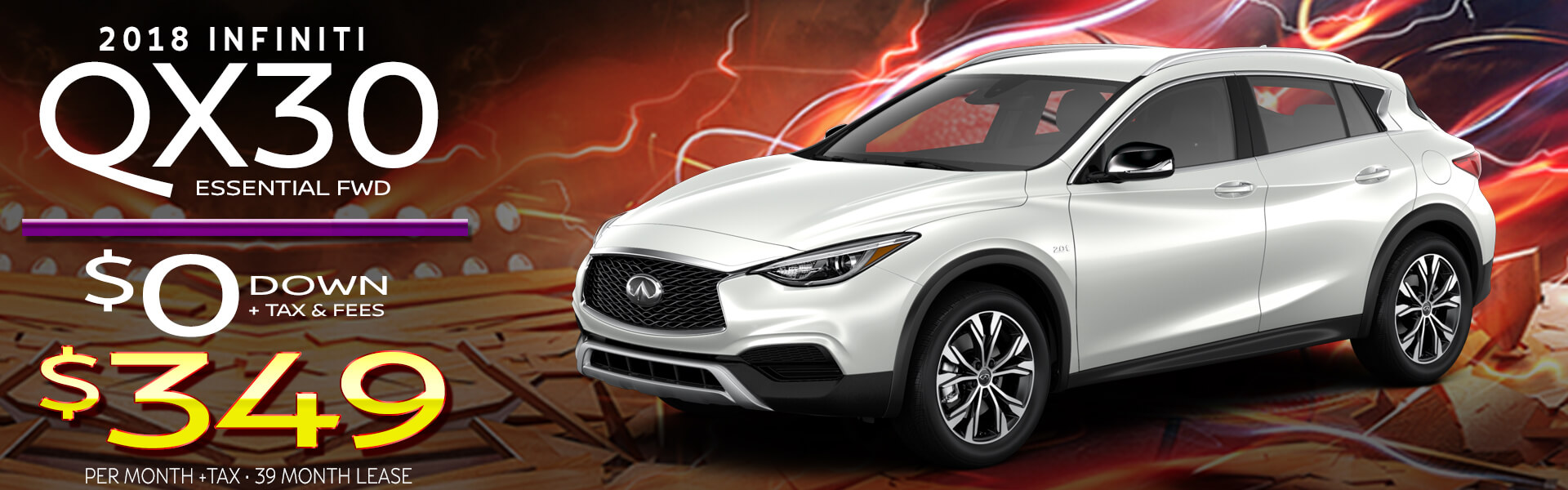 QX30 HP Offer