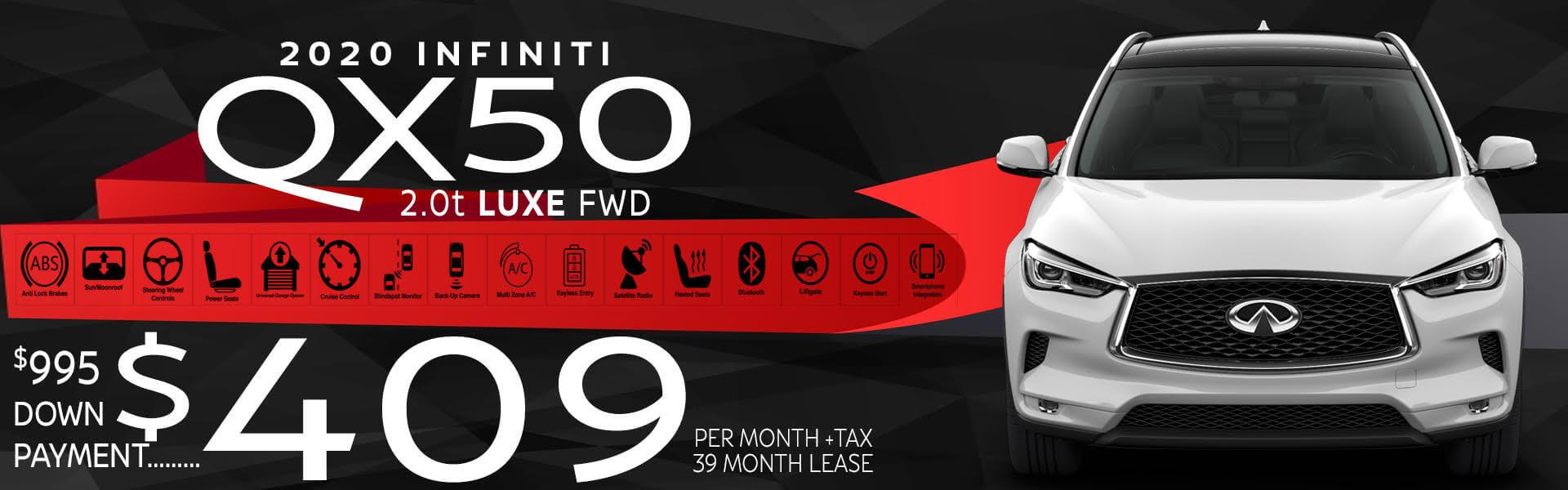 QX50 HP Offer
