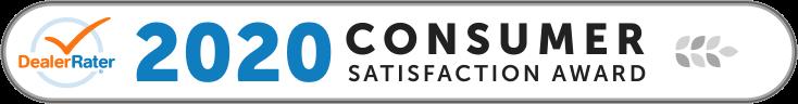 Dealer rater consumer satisfation award
