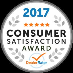 2017 Consumer Satisfaction Awaard