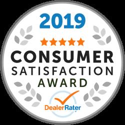 2019 Consumer Satisfaction Awaard