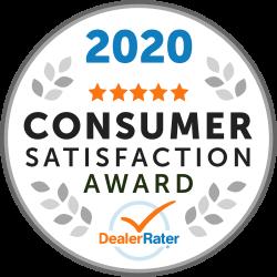 2020 Consumer Satisfaction Awaard