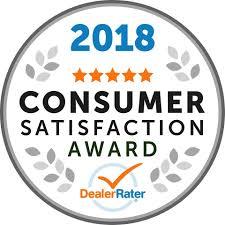 2018 Consumer Satisfaction Awaard