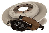 MOTORCRAFT® COMPLETE BRAKE SERVICE $179.95 OR LESS*