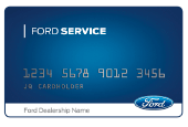GET A $25 REBATE BY MAIL WHEN YOU USE YOUR FORD SERVICE CREDIT CARD TO MAKE A QUALIFYING PURCHASE OF $250 OR MORE (BEFORE TAX).*