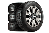 BUY FOUR SELECT TIRES, GET UP TO A $110 REBATE BY MAIL. PLUS, GET ANOTHER $70 WHEN YOU USE THE FORD SERVICE CREDIT CARD.*
