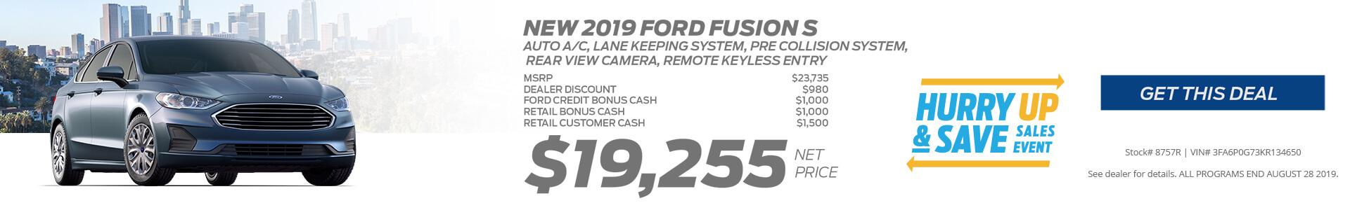 Fusion $19255