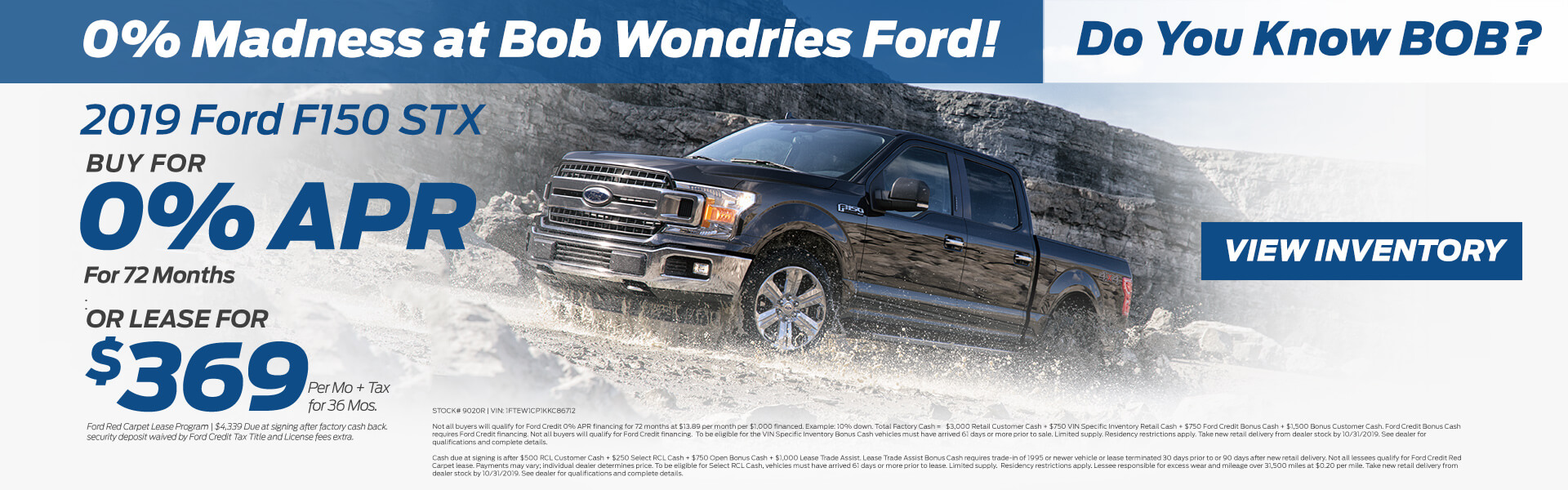 F-150 $369 Lease
