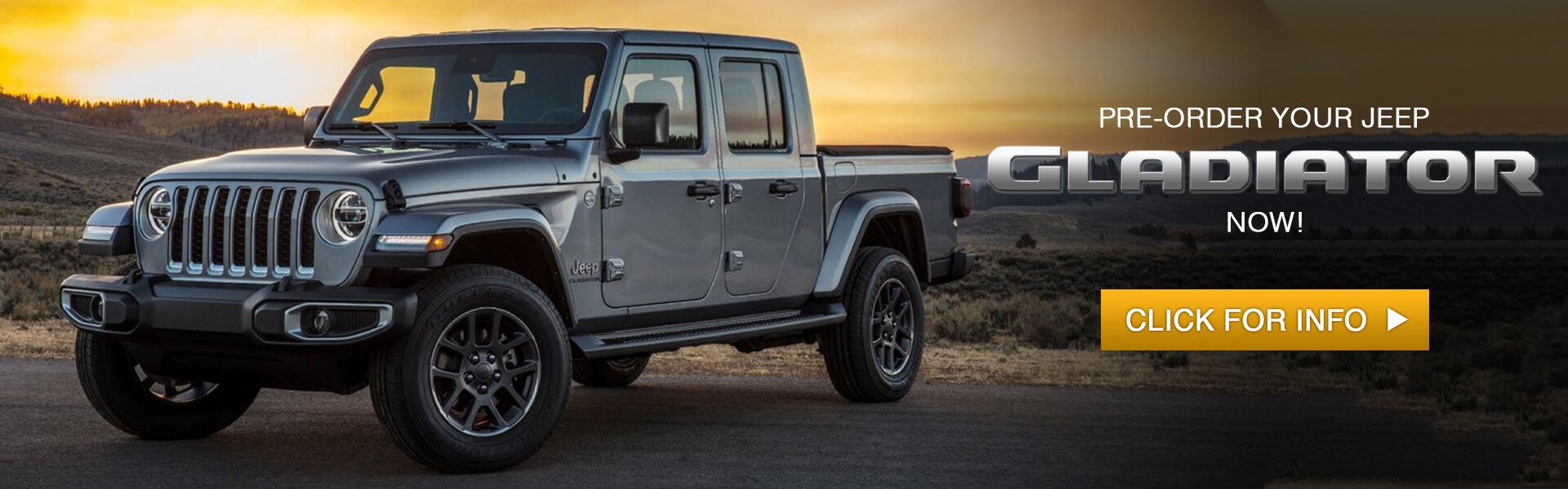 Reserve Jeep Gladiator