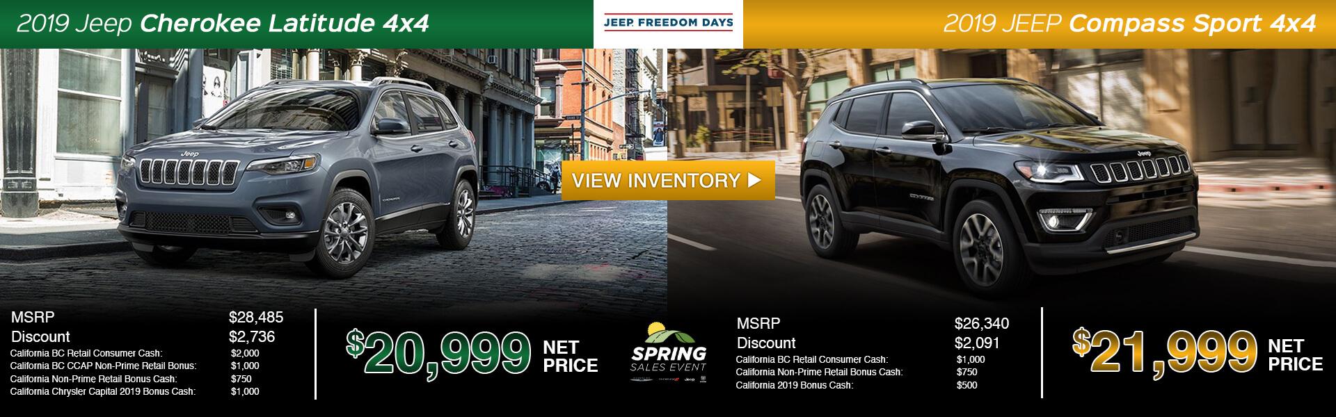 Jeep Compass Cherokee Split