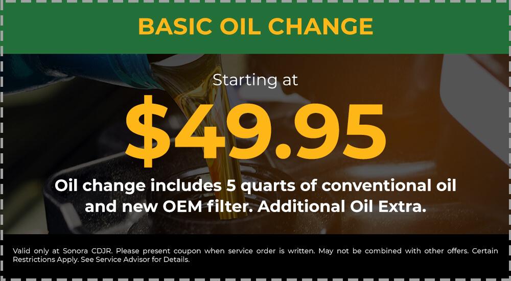 Basic Oil Change