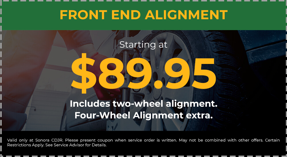 Front End Alignment