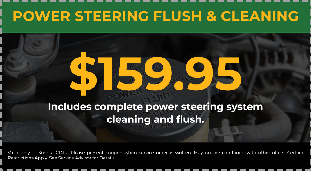 Power Steering Flush & Cleaning
