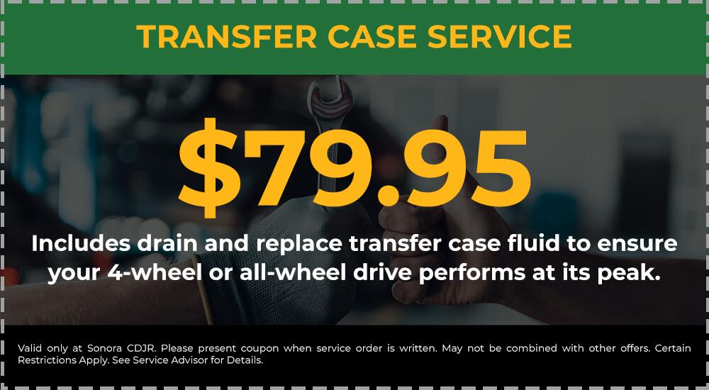 Transfer Case Service