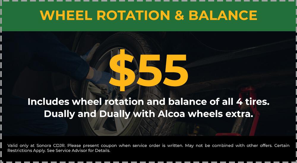 Wheel Rotation & Balance