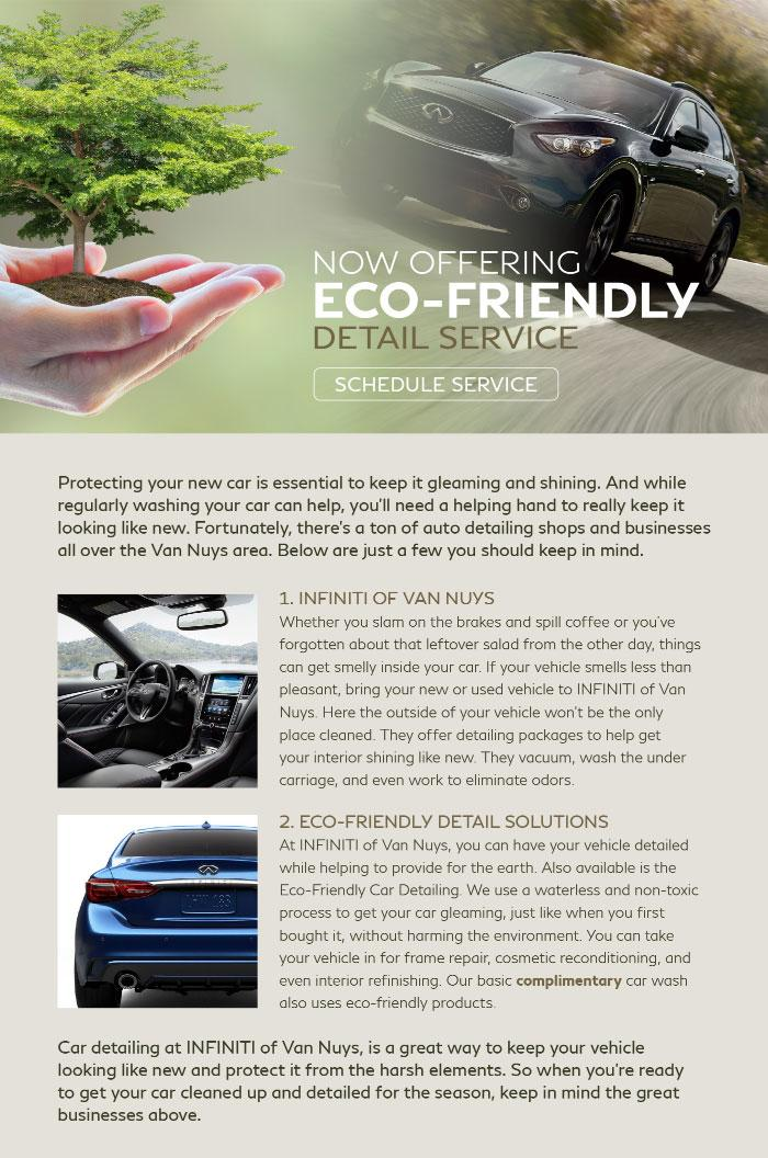 Eco-Friendly Detail Service