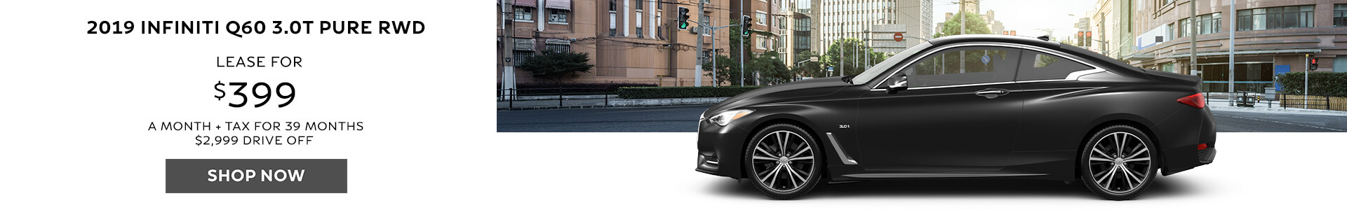 Q60 Lease for $399