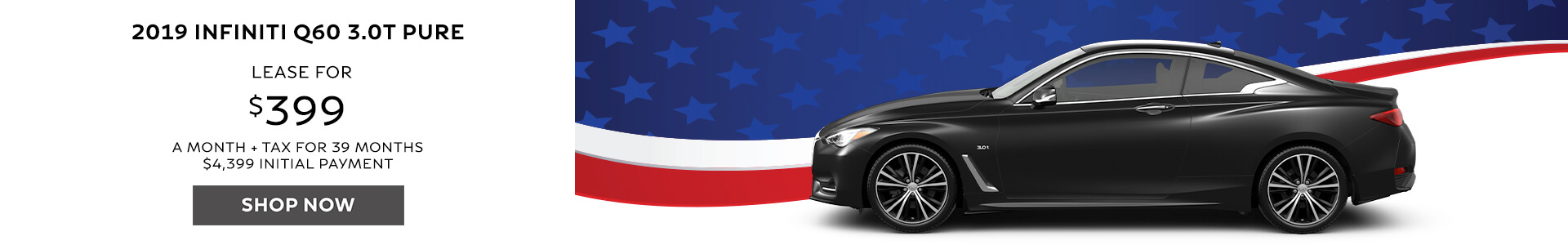 Q60 - Lease for $399