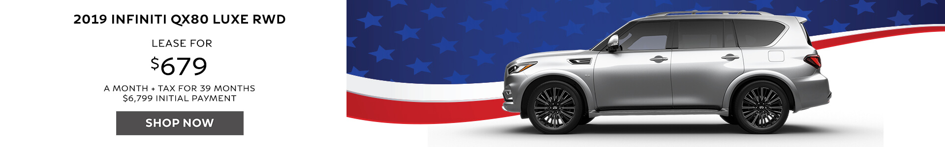 QX80 - Lease for $679
