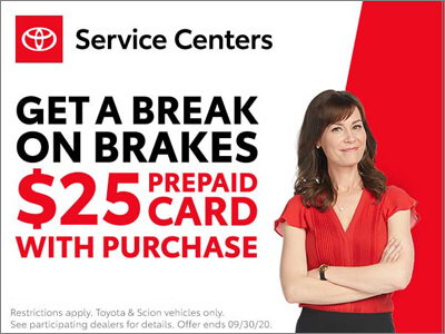 Get A Break On Brakes