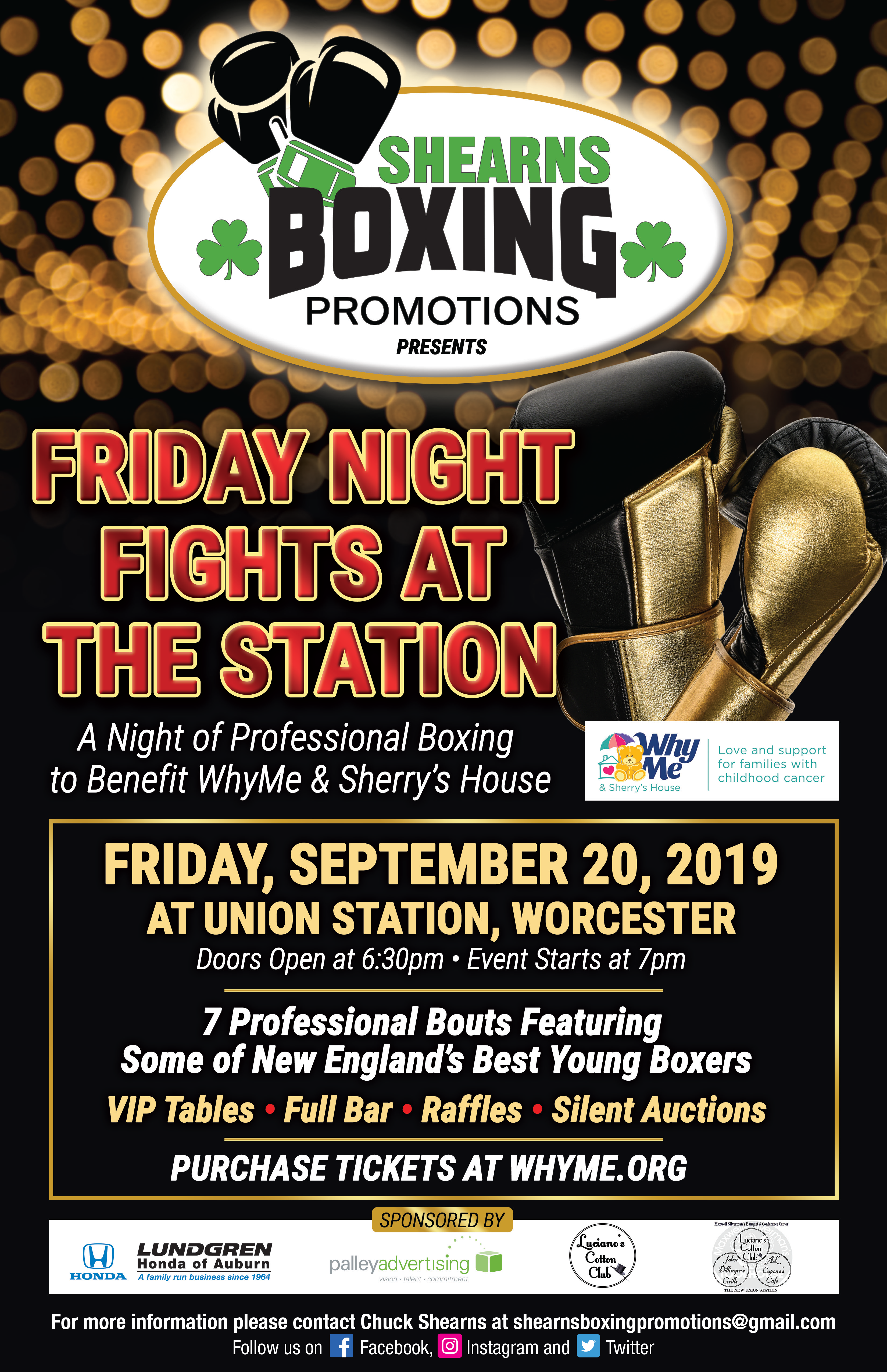 Friday Night Fights at the Station