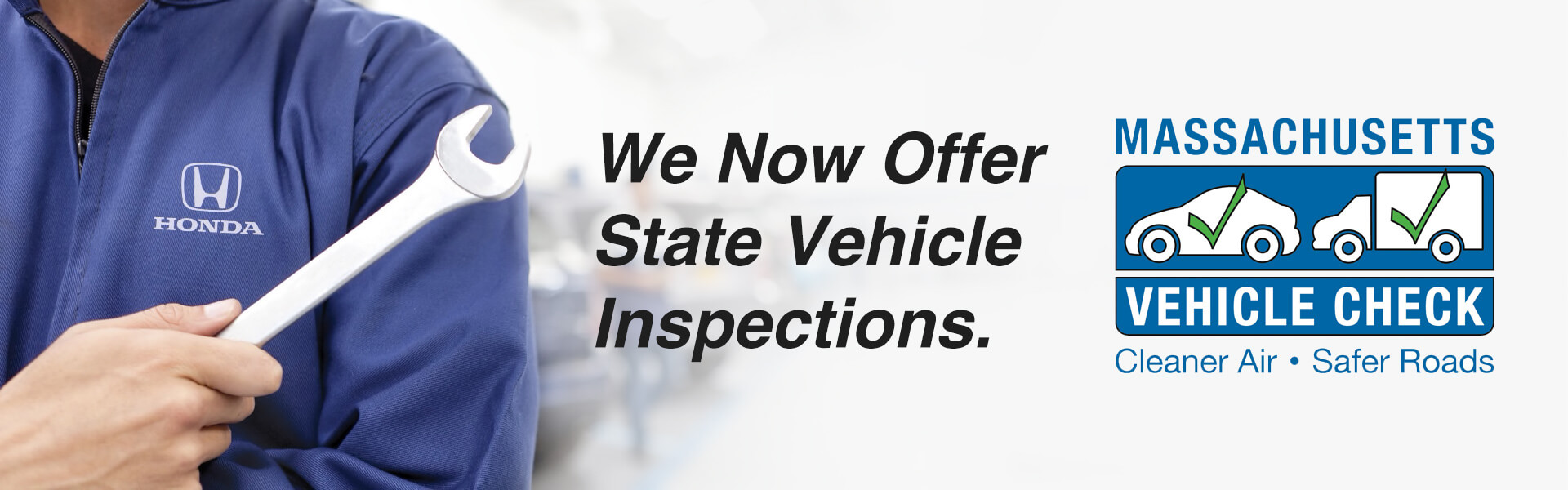 We Now Offer State Vehicle Insepctions