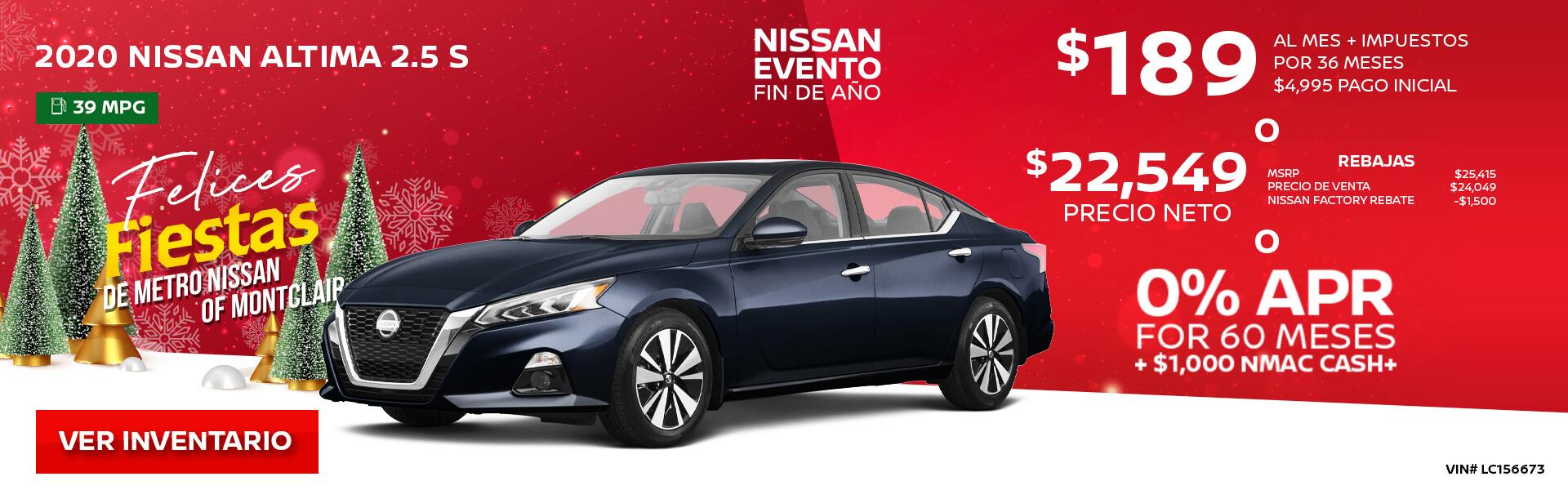 2020 Nissan Altima
