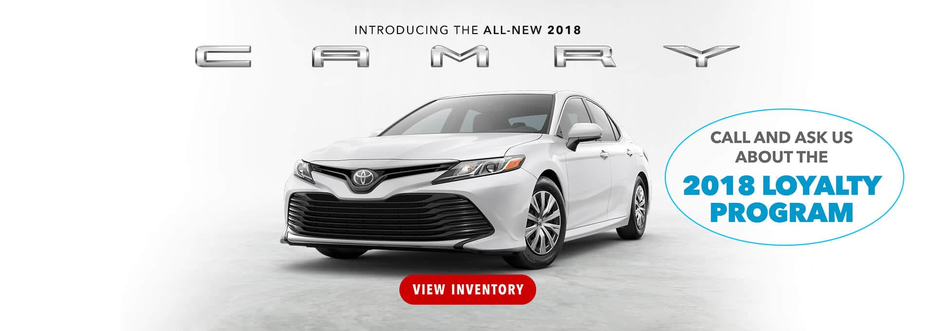 Camry 2018 Loyalty Program