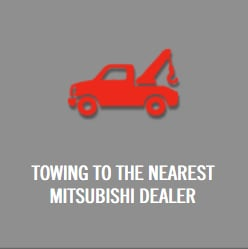 Towing to the nearest Mitsubishi Dealer