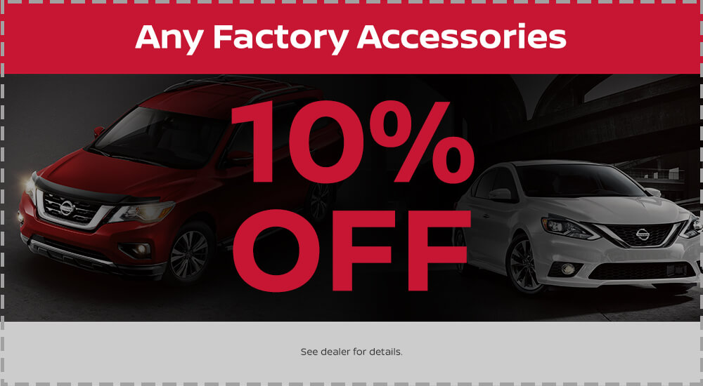 10% Off Factory Accesories