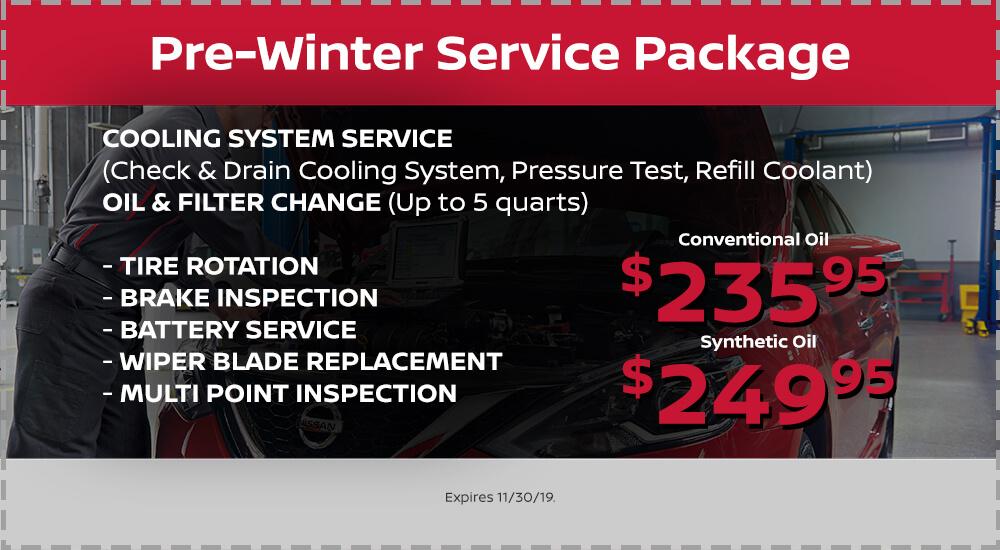 Pre-Winter Service Package