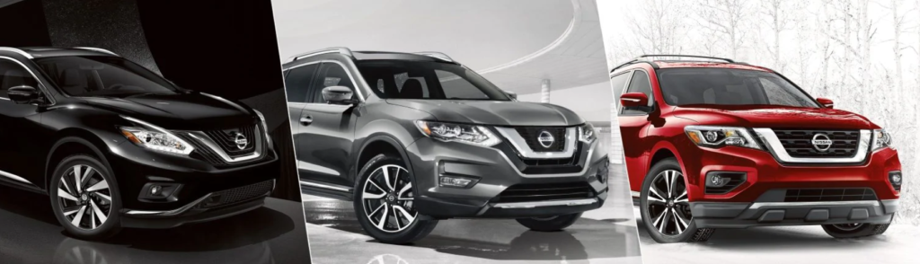 Nissan SUVs - Murano, Rogue, and Pathfinder