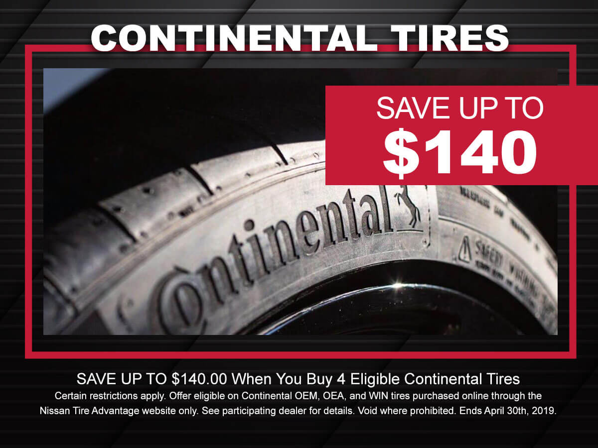 Nissan Continental Tire Special