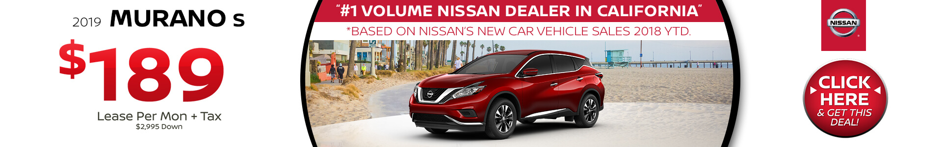 Nissan Murano Lease $189