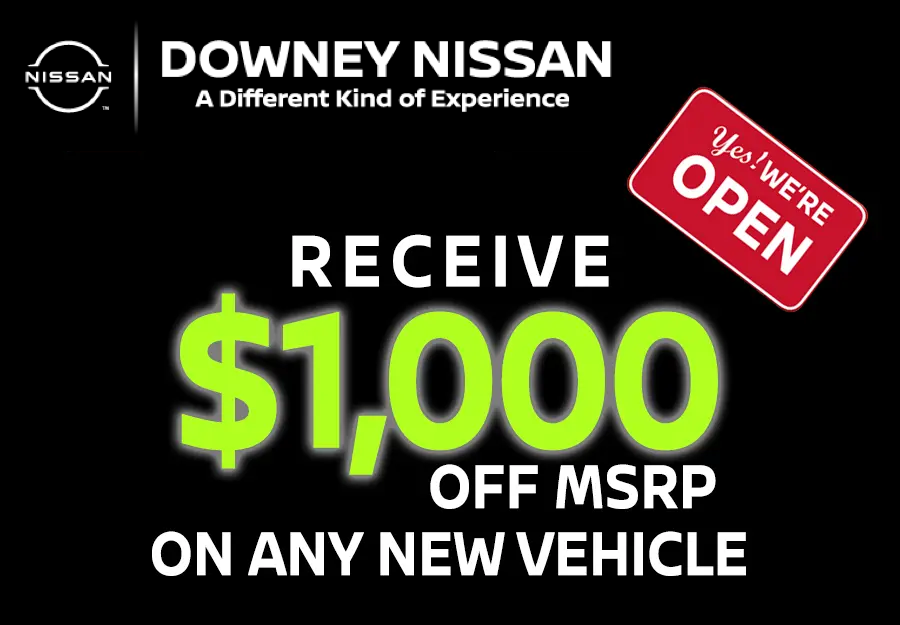 Receive $1,000 On Any New Vehicle