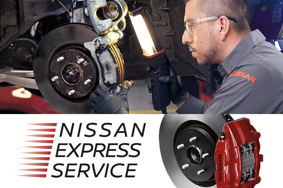 Genuine Nissan Brake Service
