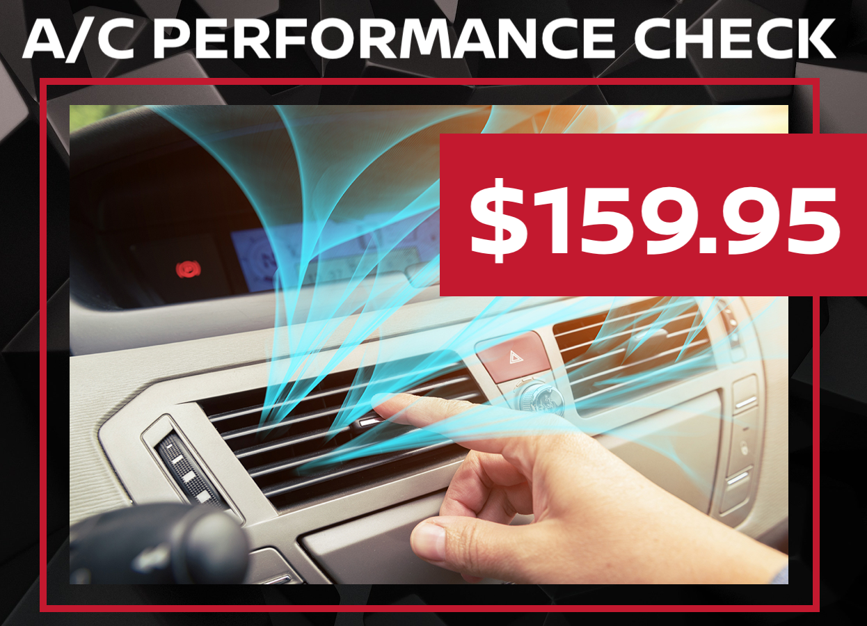 Nissan Air Conditioning Check Special