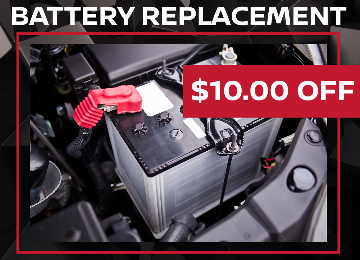 Battery Replacement & Installation Coupon
