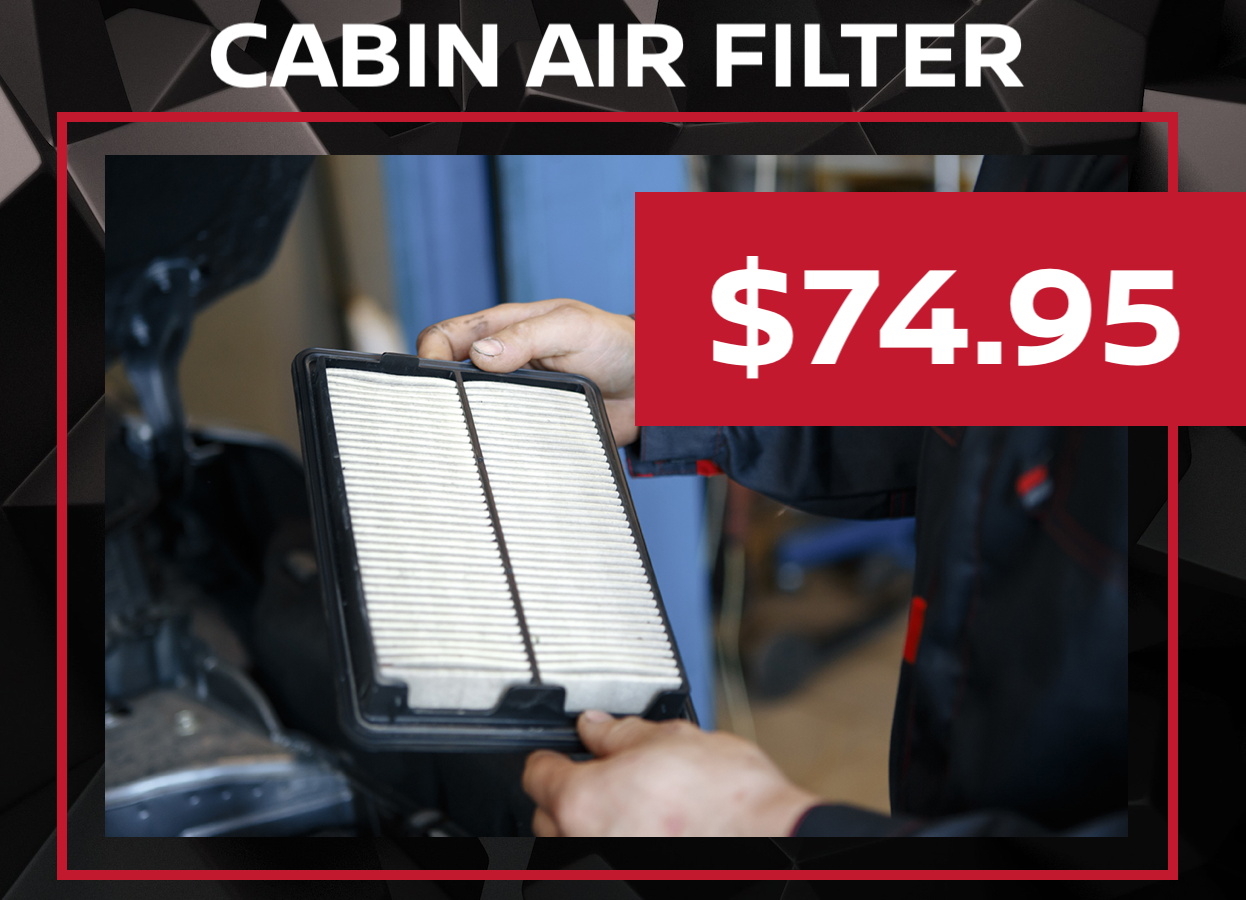 Cabin Air Filter Service Special Coupon