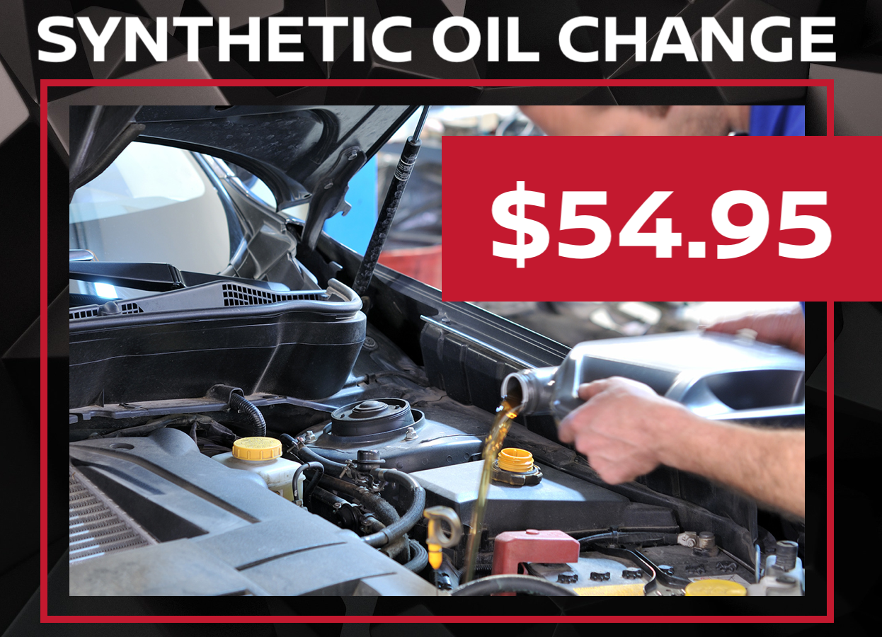Nissan Synthetic Oil Change Special