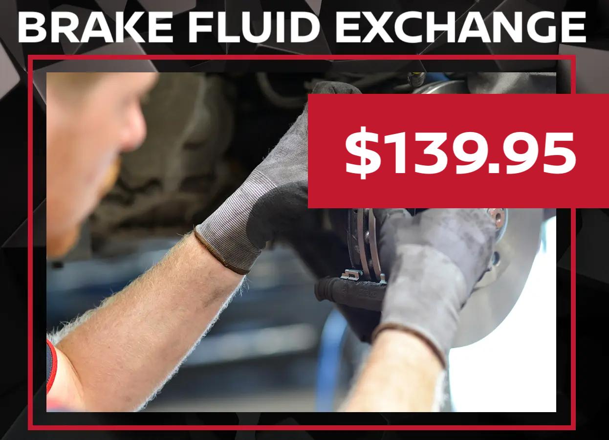 Nissan Brake Fluid Special