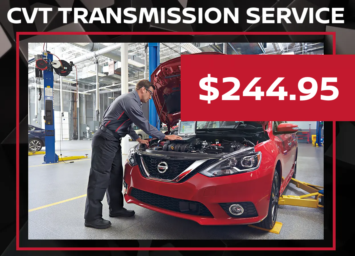 Nissan Transmission Service Special
