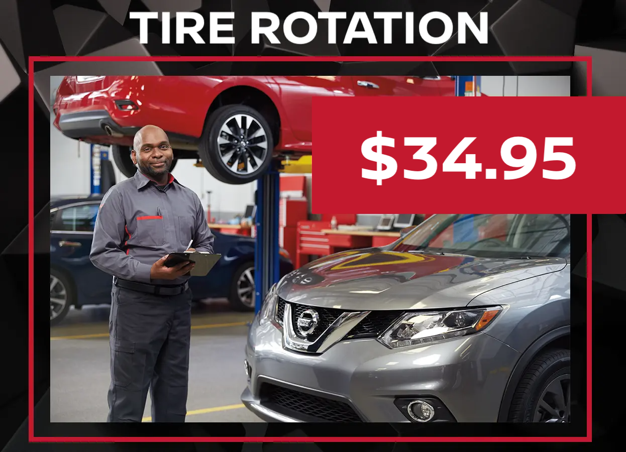 Nissan Tire Rotation Special